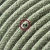 cotone verde grigio