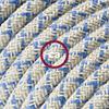 lino cotone blu steward losanga