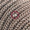 lino cotone corteccia zigzag