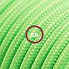 effetto seta verde fluo