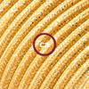 effetto seta oro glitter