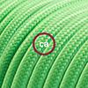 effetto seta verde lime