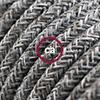 lino grigio naturale