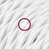 cotone bianco trecciato